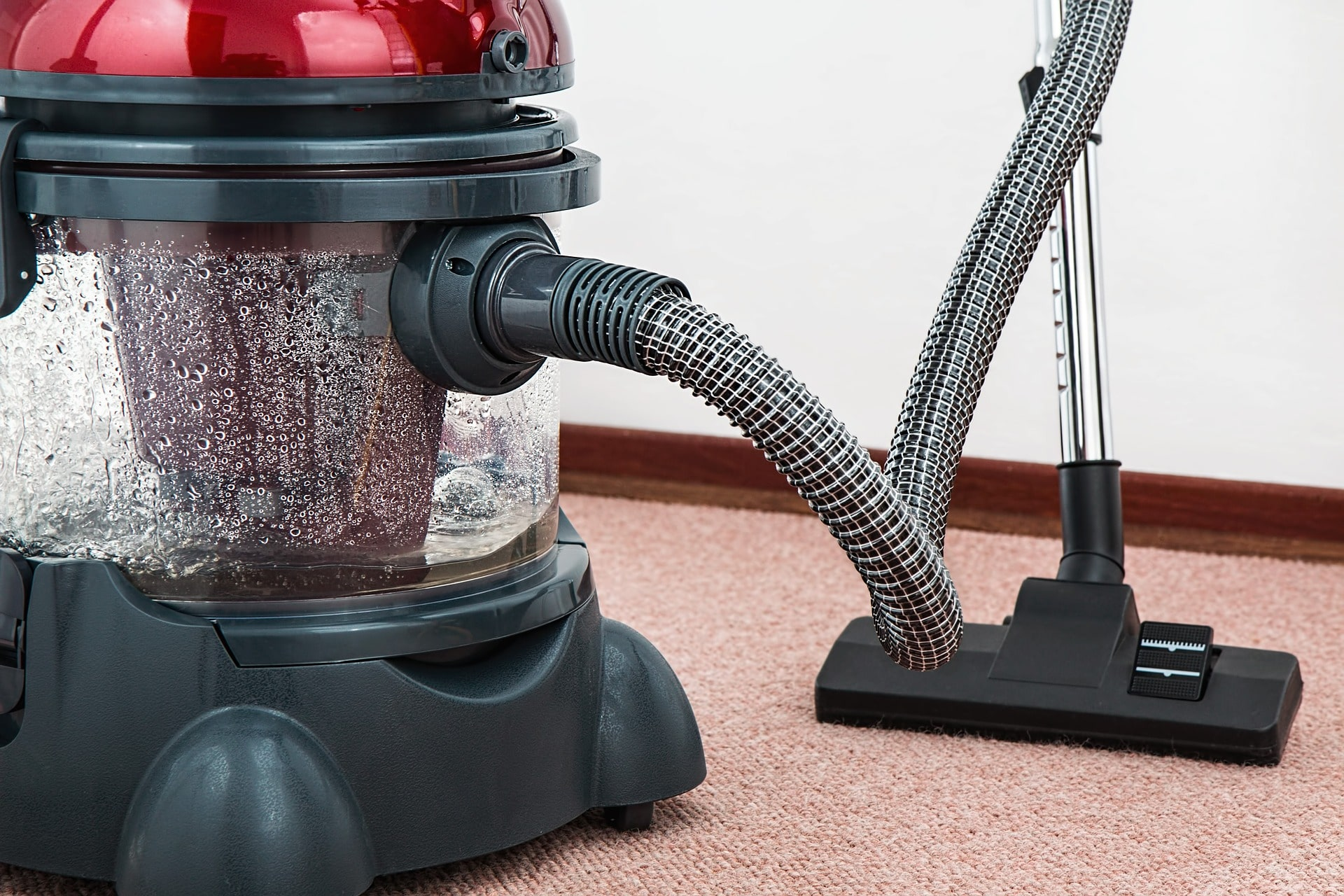 water damaged carpets