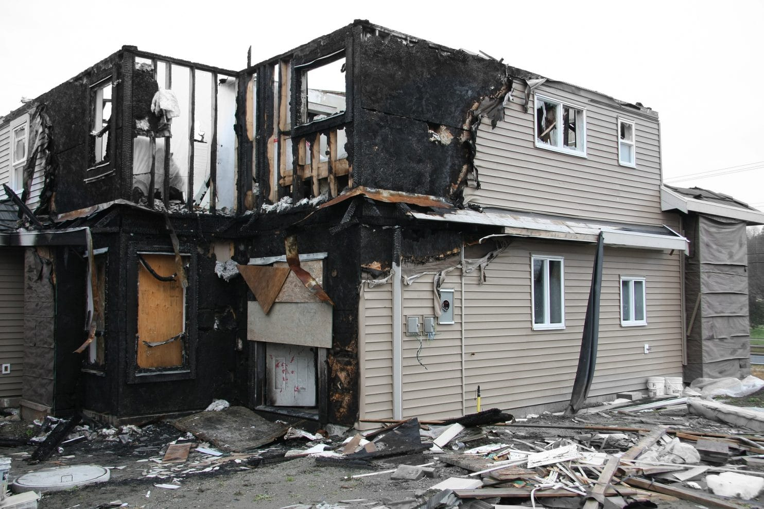 Returning To Your Home After Fire Damages Call The Best
